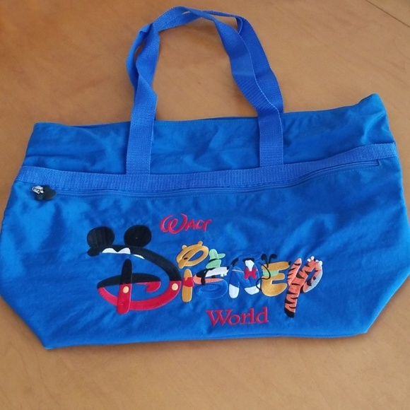 Disney Characters Large Tote Bag
